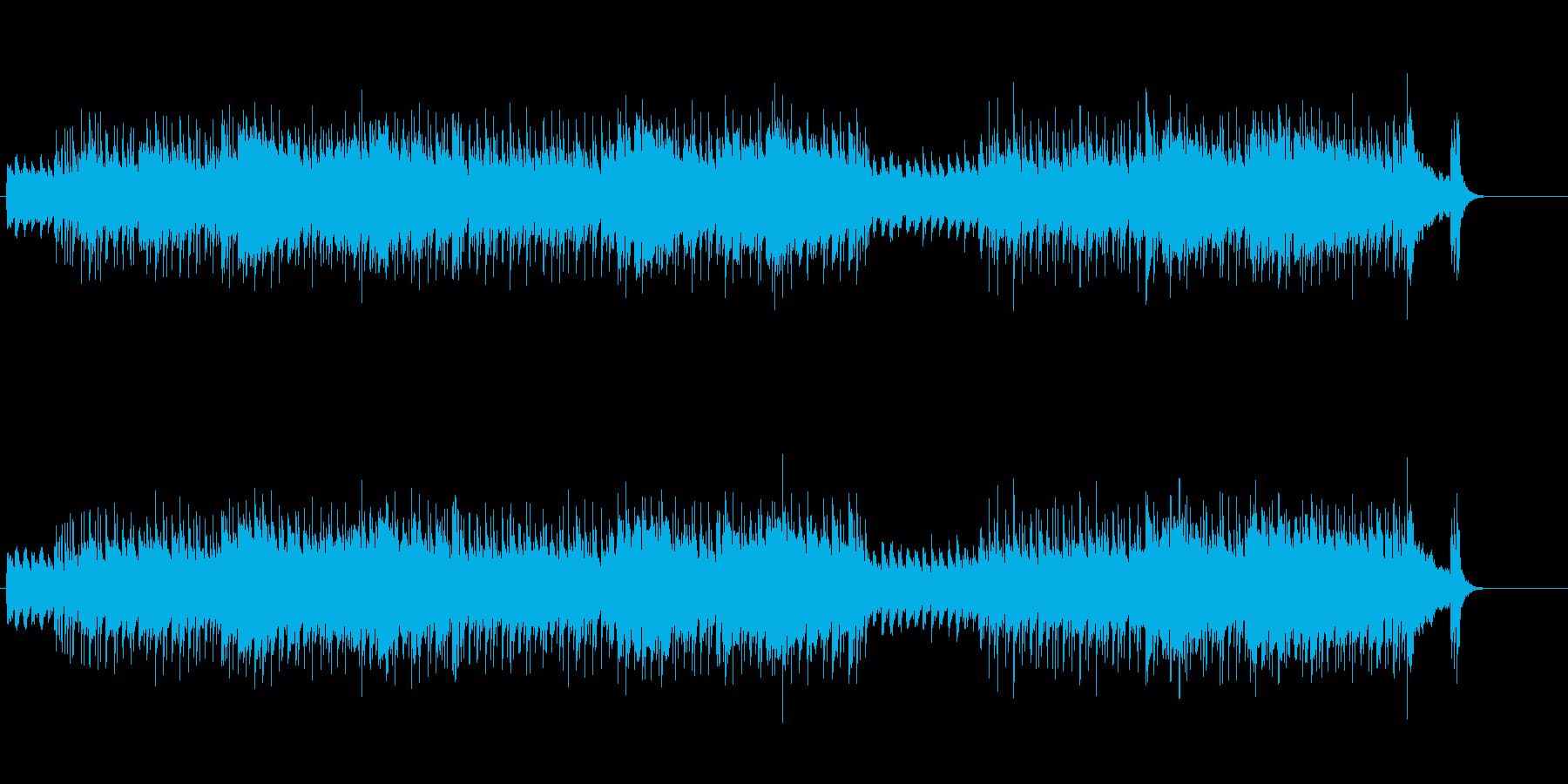ブラスとピアノによるポップ・アンサンブルの再生済みの波形