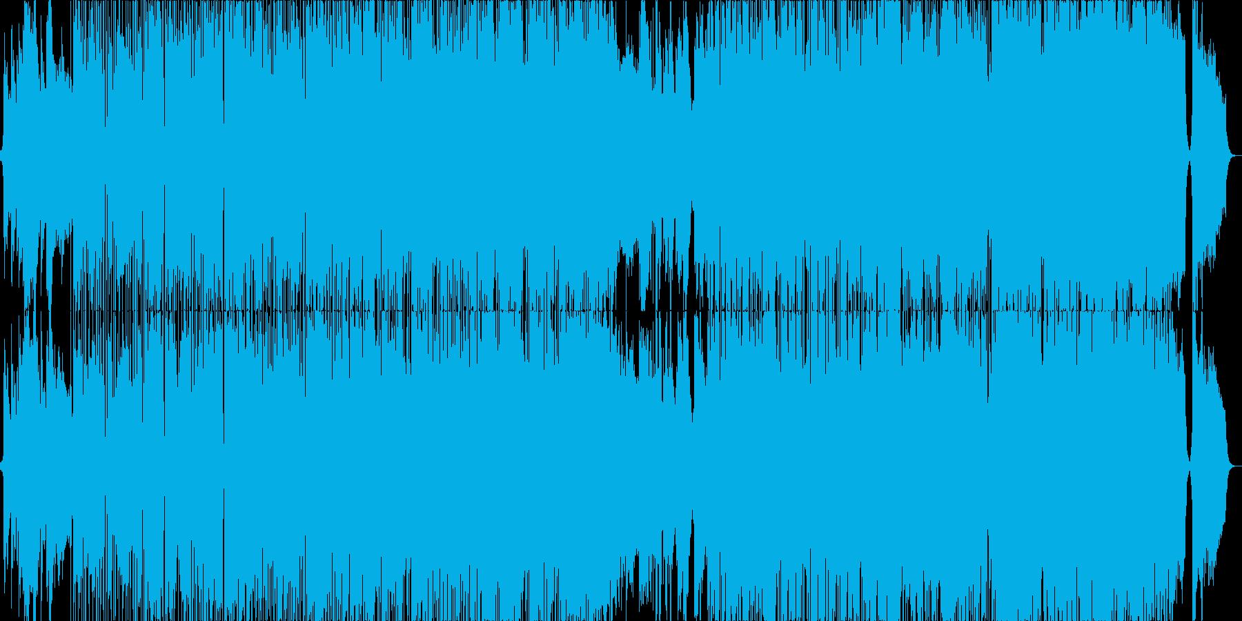 カフェミュージック:サックス Mix-Bの再生済みの波形