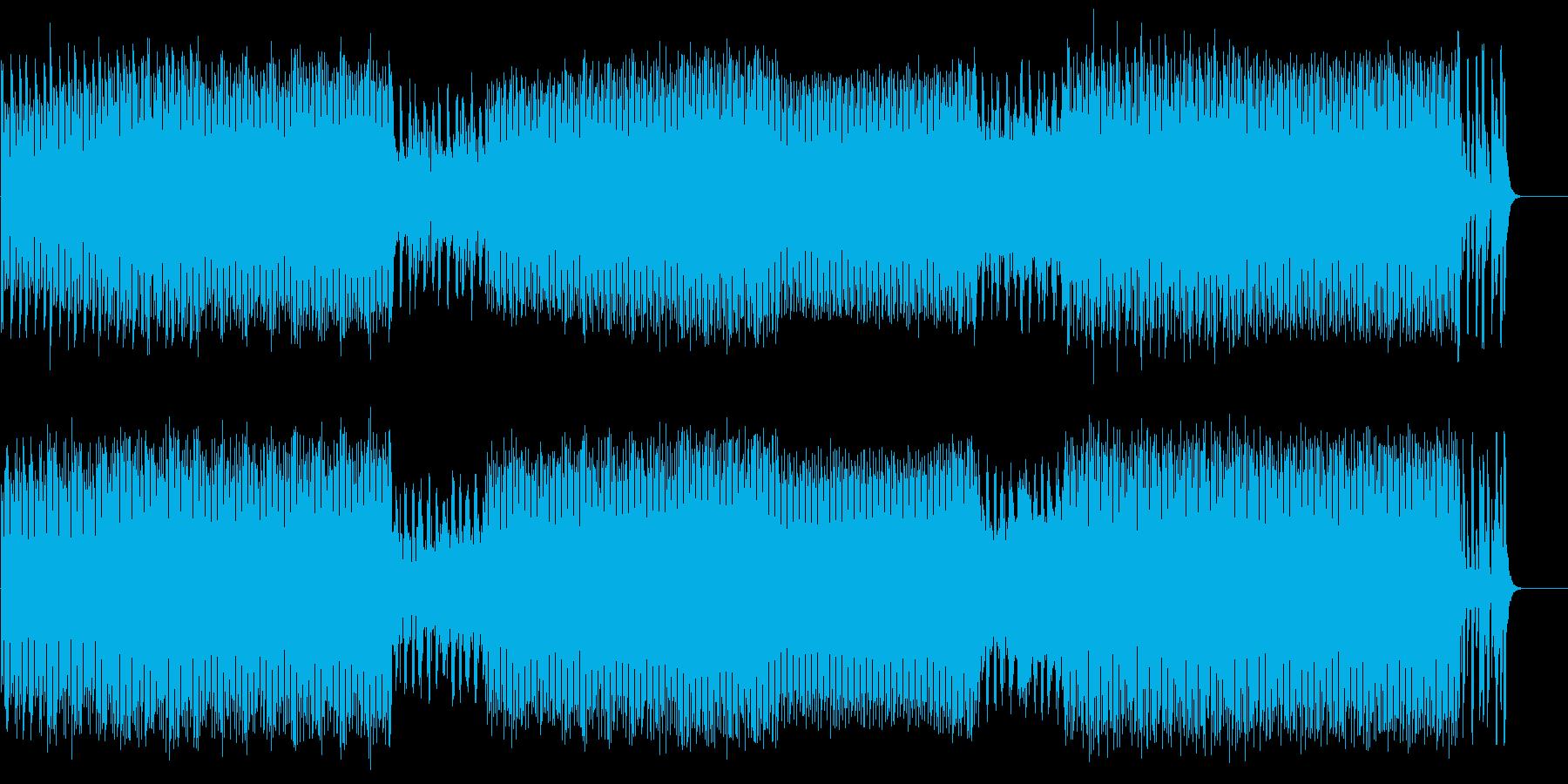 前衛的なテクノ/ハウス/マイナーの再生済みの波形