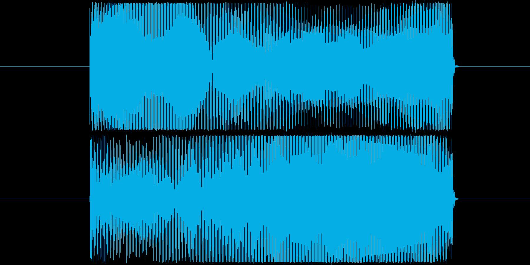 キュワーンの再生済みの波形