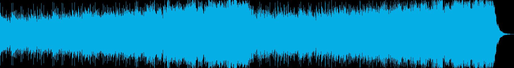 オープニング、爽やかピアノ&ストリングスの再生済みの波形
