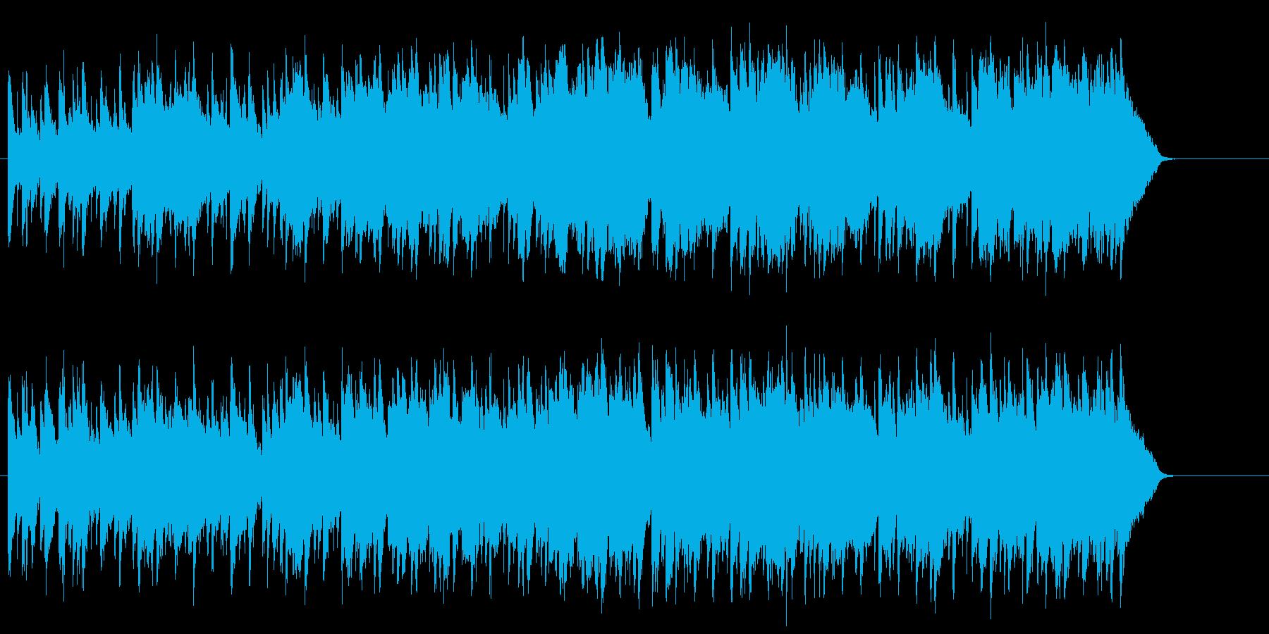 穏やかなティータイムのボサノバ/ポップの再生済みの波形
