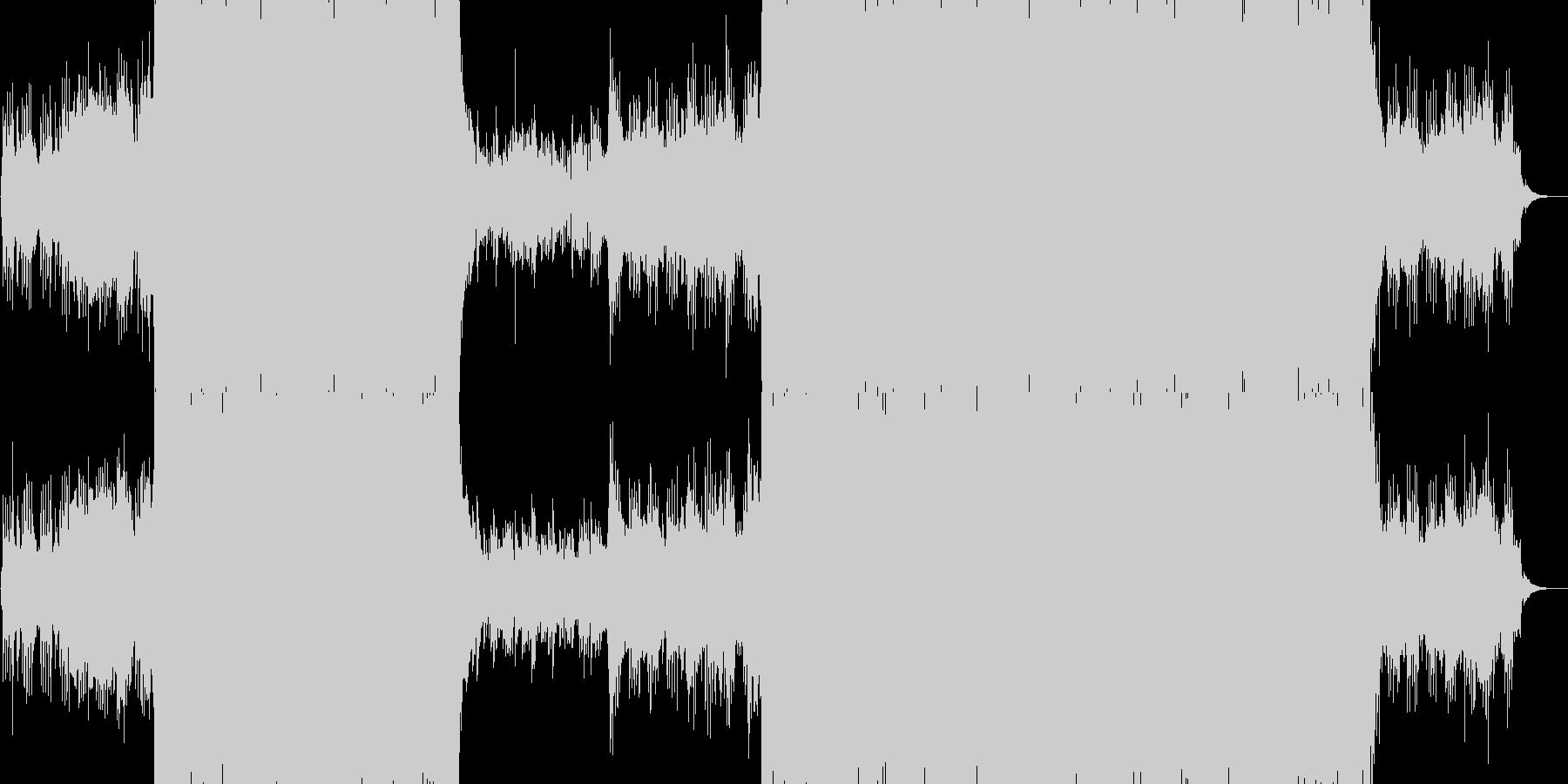 和風 富士山 暁の未再生の波形