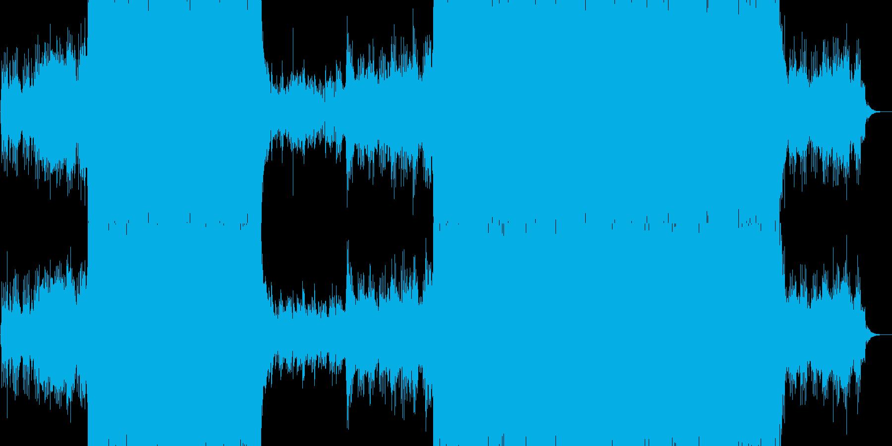 和風 富士山 暁の再生済みの波形