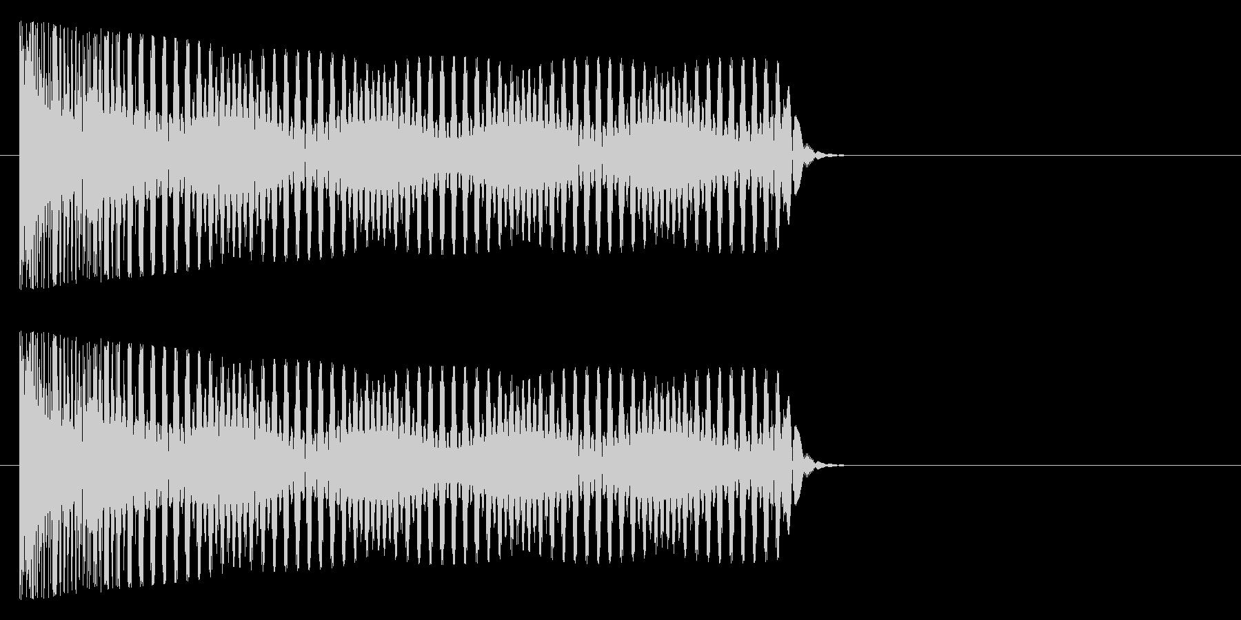トゥーー(オルガン系)の未再生の波形