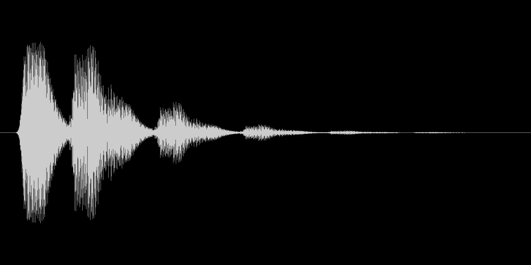 ファミコン風効果音 キャンセル系 09の未再生の波形