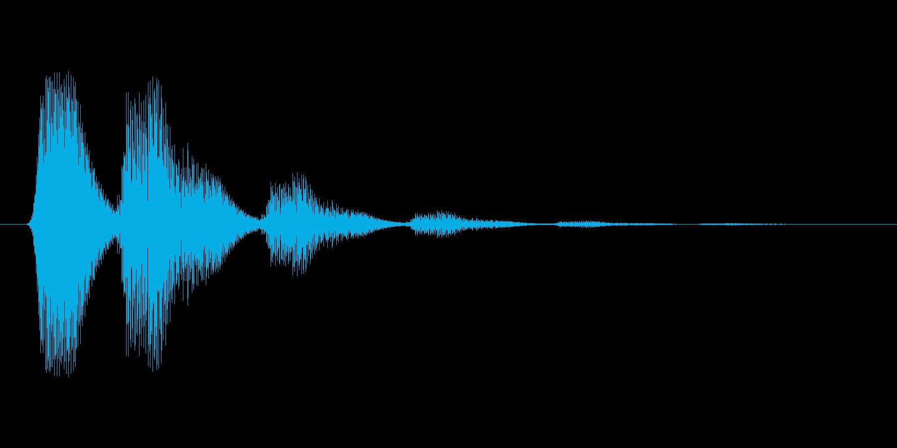 ファミコン風効果音 キャンセル系 09の再生済みの波形
