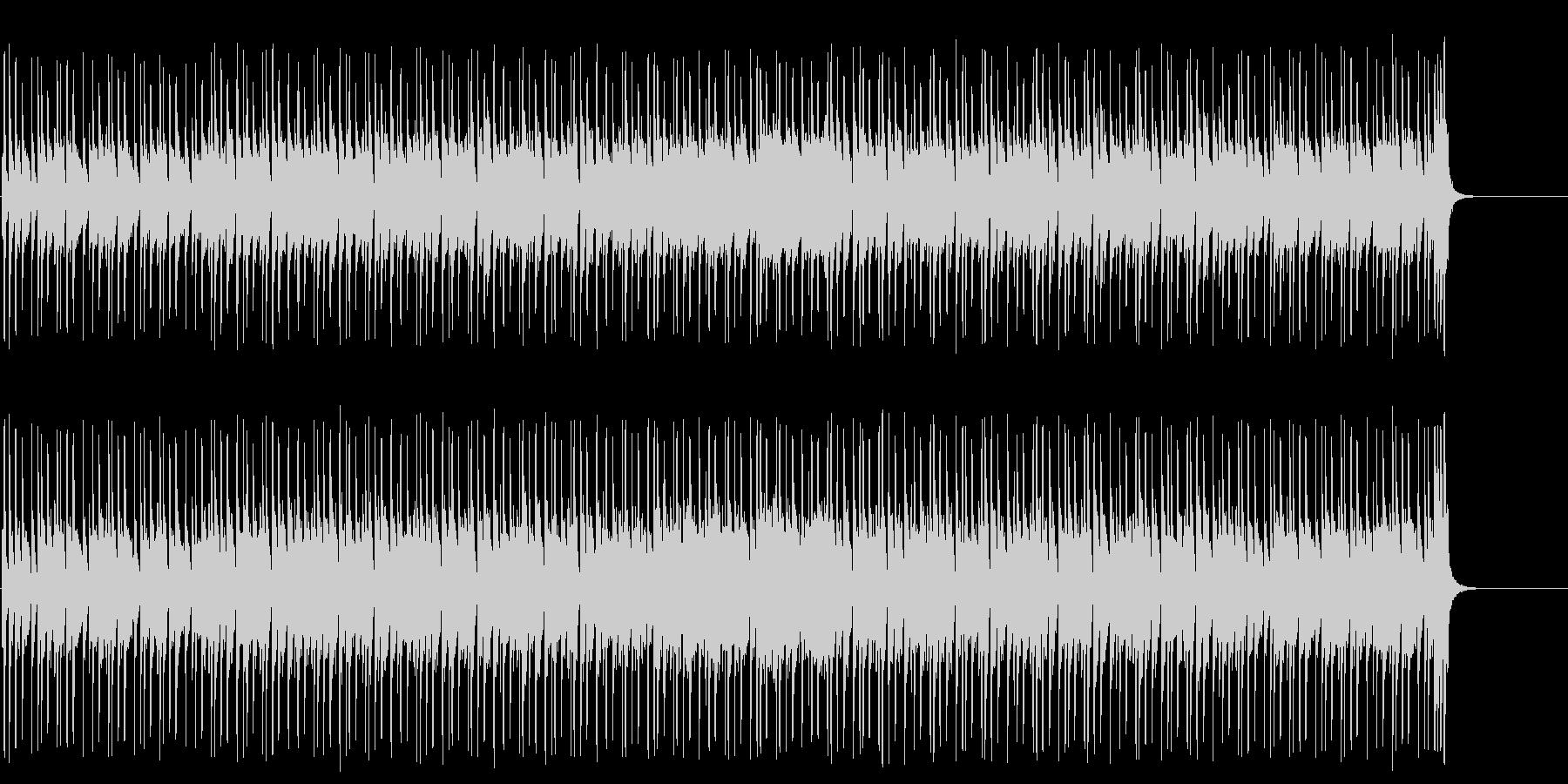 ダーティなポップ/マイナーの未再生の波形