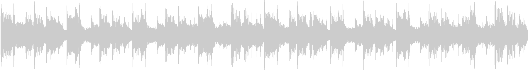 リラックス系のアンビエントハウスの未再生の波形