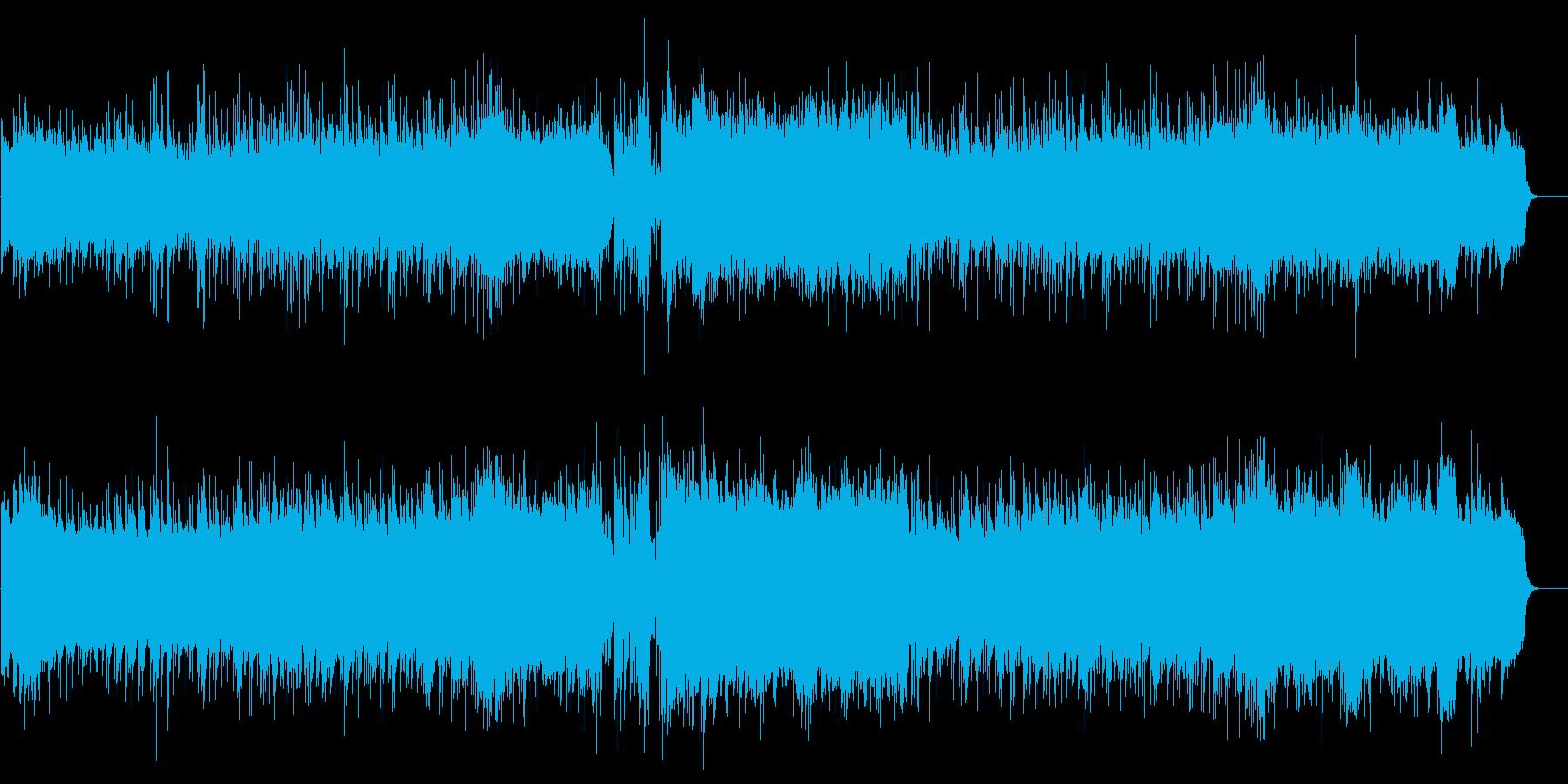 ドレス登場シーンのニューミュージックBGの再生済みの波形