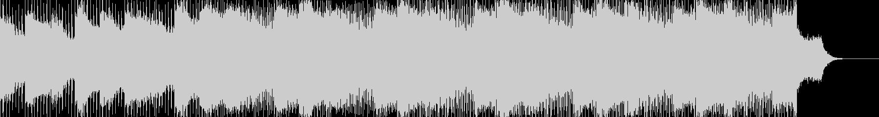 怪しく不思議な雰囲気のアンビエントBGMの未再生の波形
