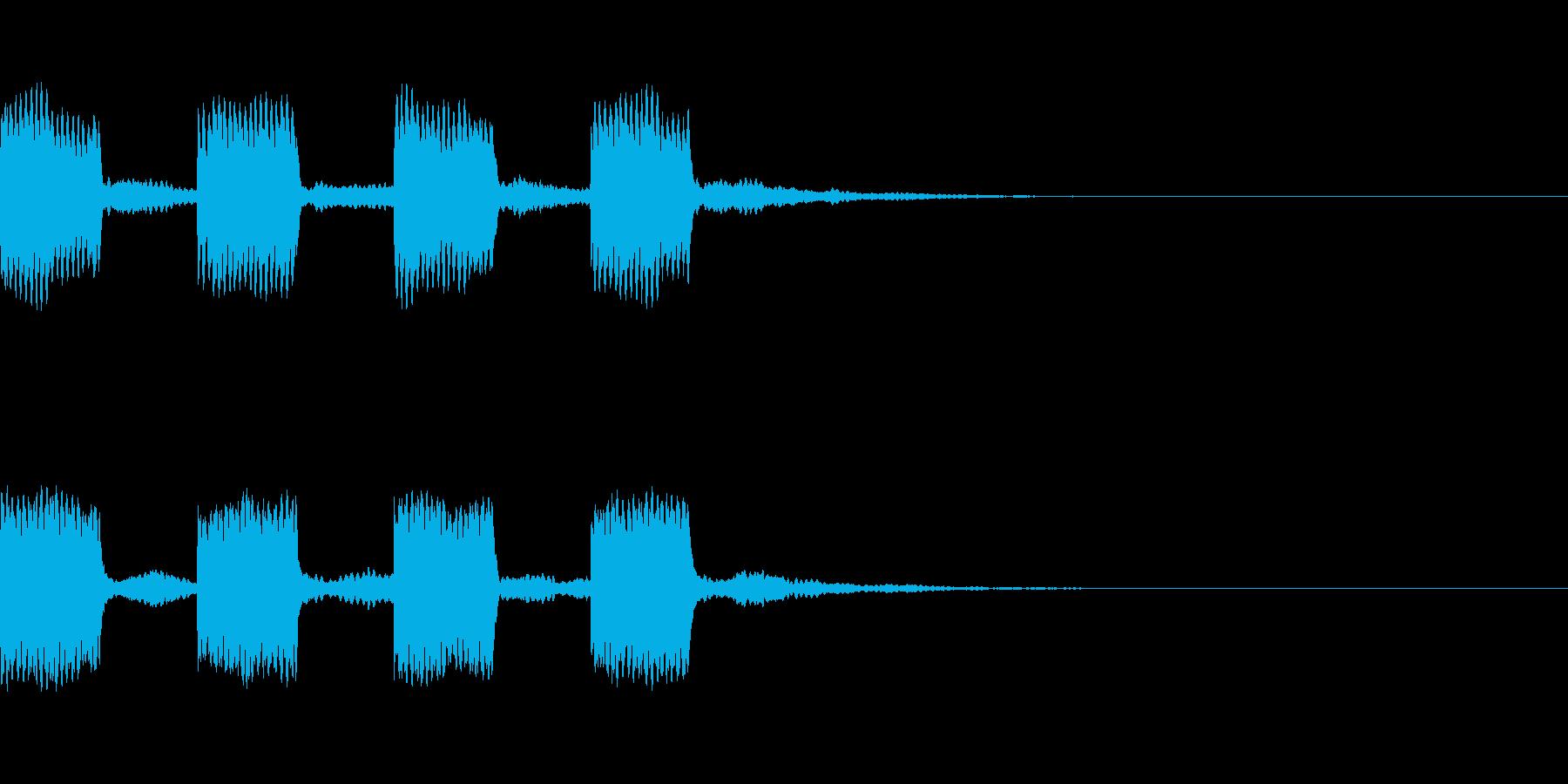 警報_その3の再生済みの波形