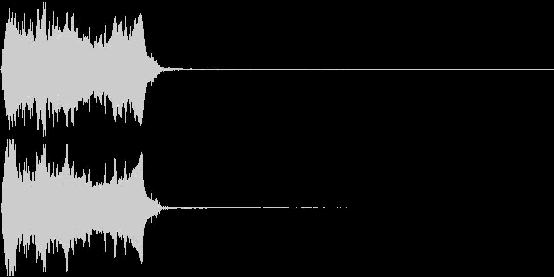 トランペット ファンファーレ 定番 6の未再生の波形