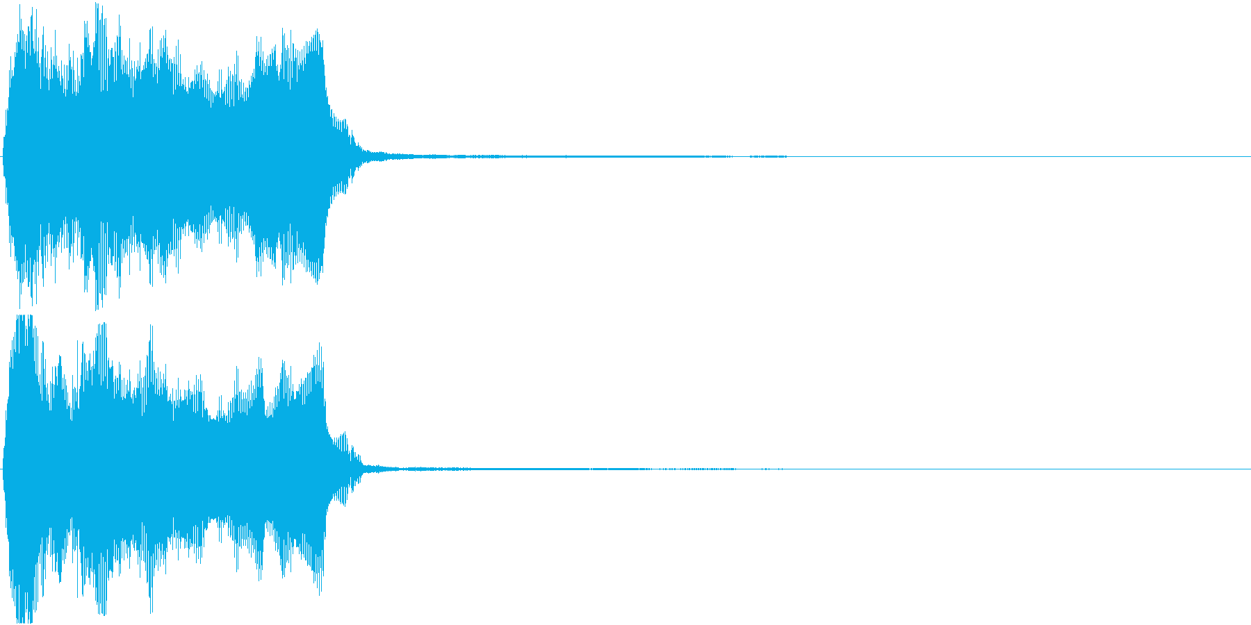 トランペット ファンファーレ 定番 6の再生済みの波形