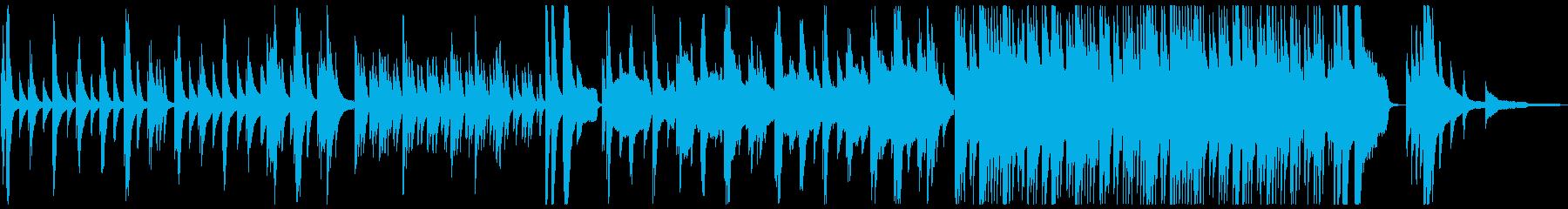 綺麗でノスタルジックなピアノアンビエントの再生済みの波形