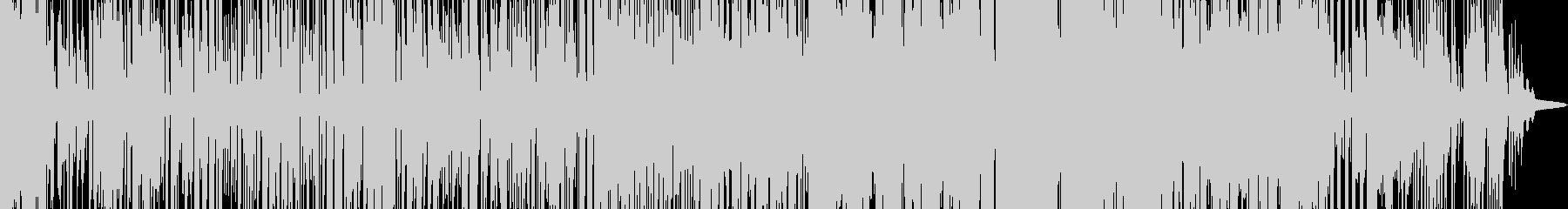 ショートムービーに使えるイメージの未再生の波形