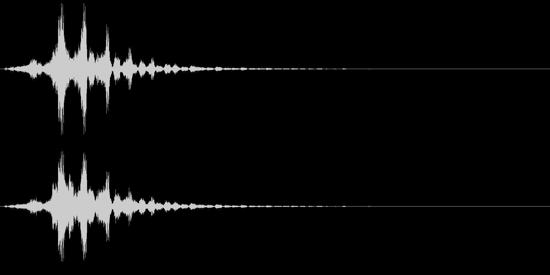 シュイッ+キラキラ(キラキラ系、魔法)の未再生の波形