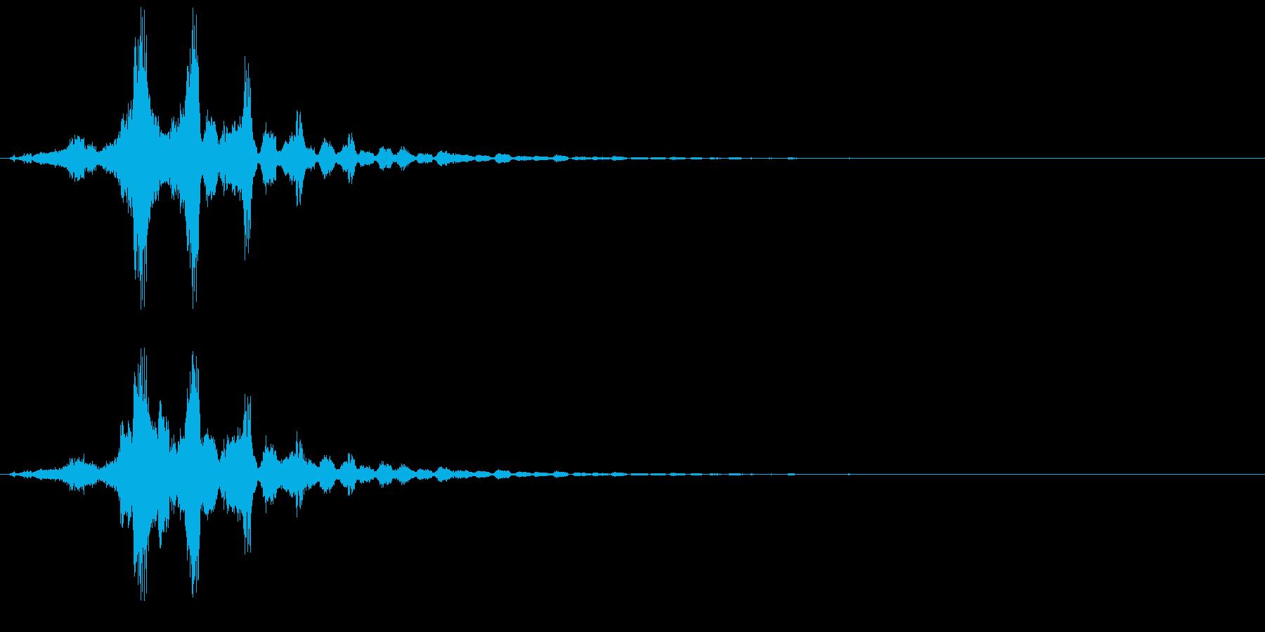 シュイッ+キラキラ(キラキラ系、魔法)の再生済みの波形