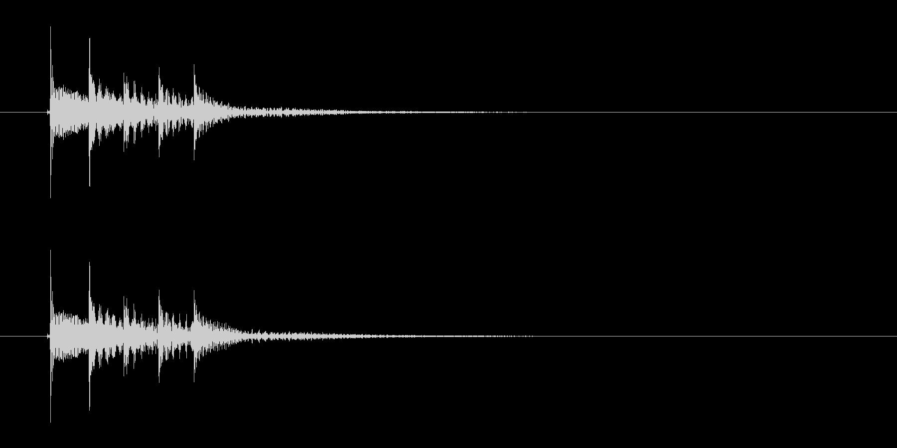 トゥロロロレン(不思議な音)の未再生の波形
