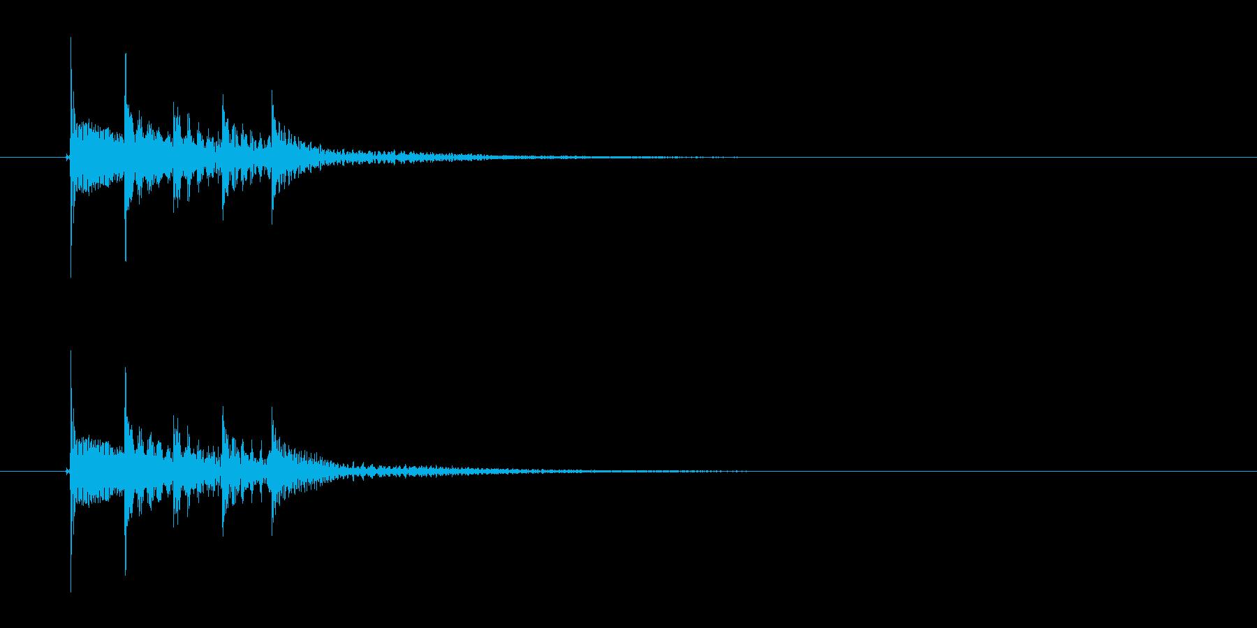トゥロロロレン(不思議な音)の再生済みの波形