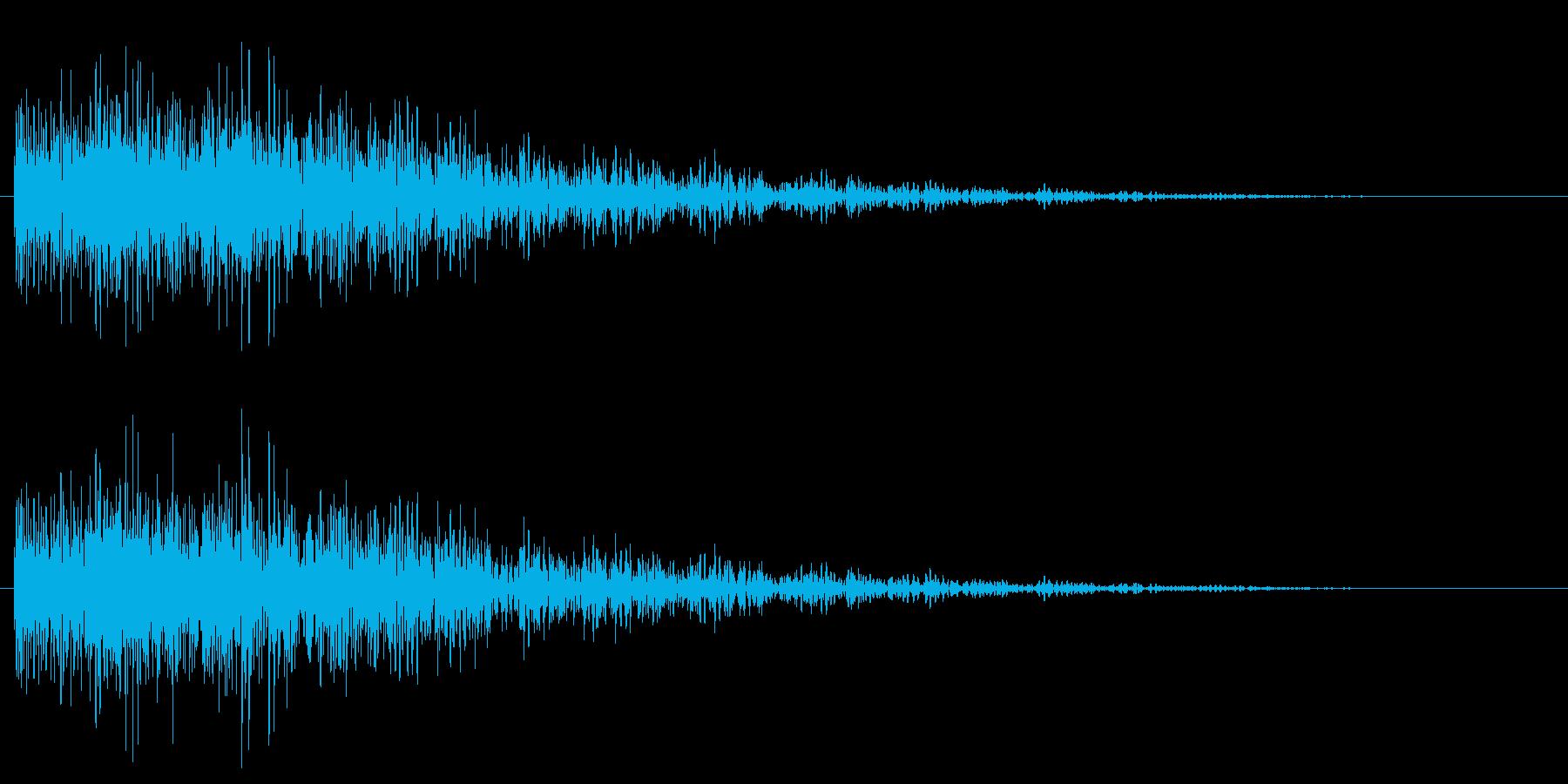 ギュルル/失敗/テンションダウンの再生済みの波形