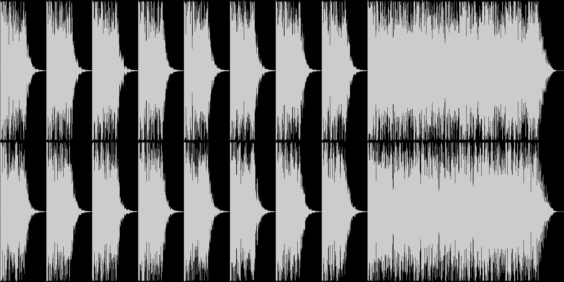 打楽器 BPM=100の未再生の波形