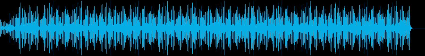 ミニマルなピアノBGM(ストリングス無)の再生済みの波形