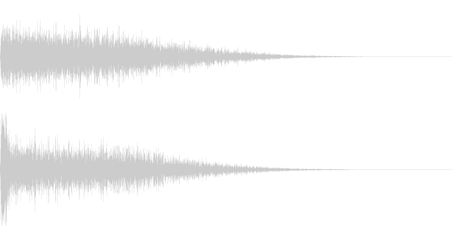 【SE 効果音】不気味な音7の未再生の波形