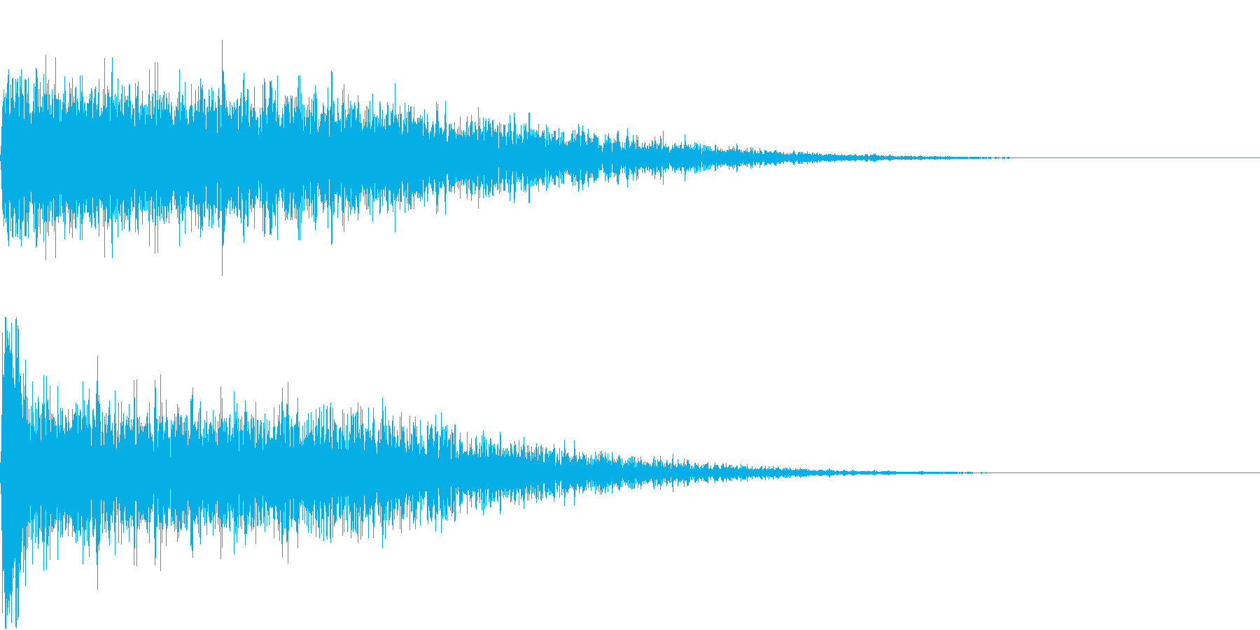 【SE 効果音】不気味な音7の再生済みの波形