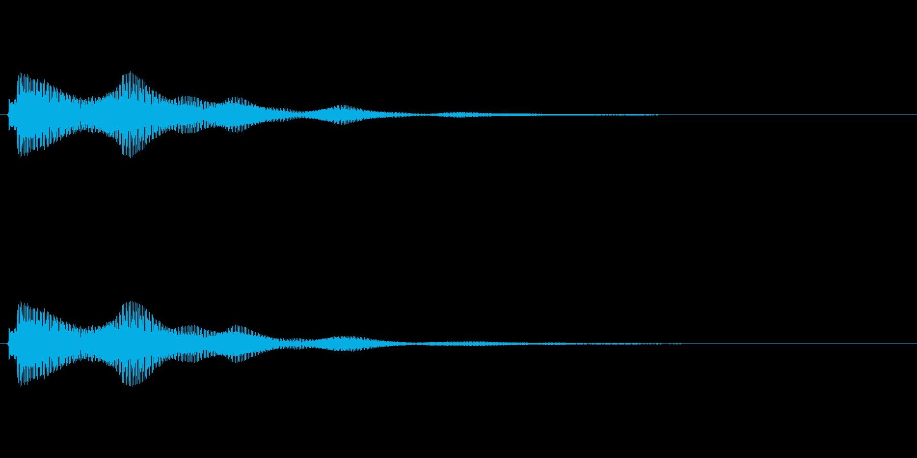キラキラ系_117の再生済みの波形