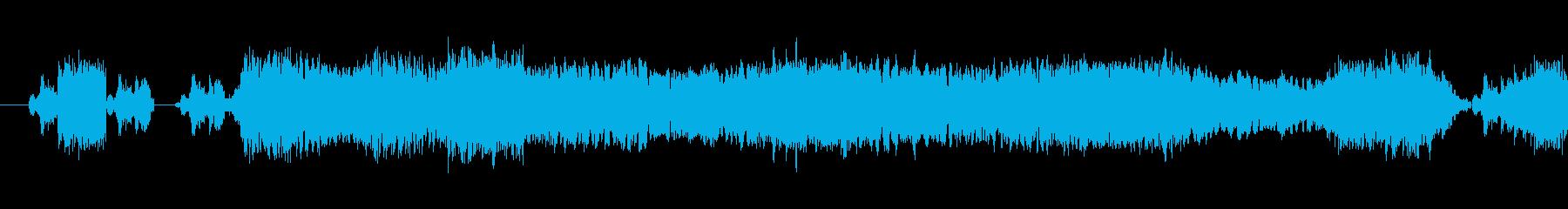 159 黒板をひっかく音1の再生済みの波形