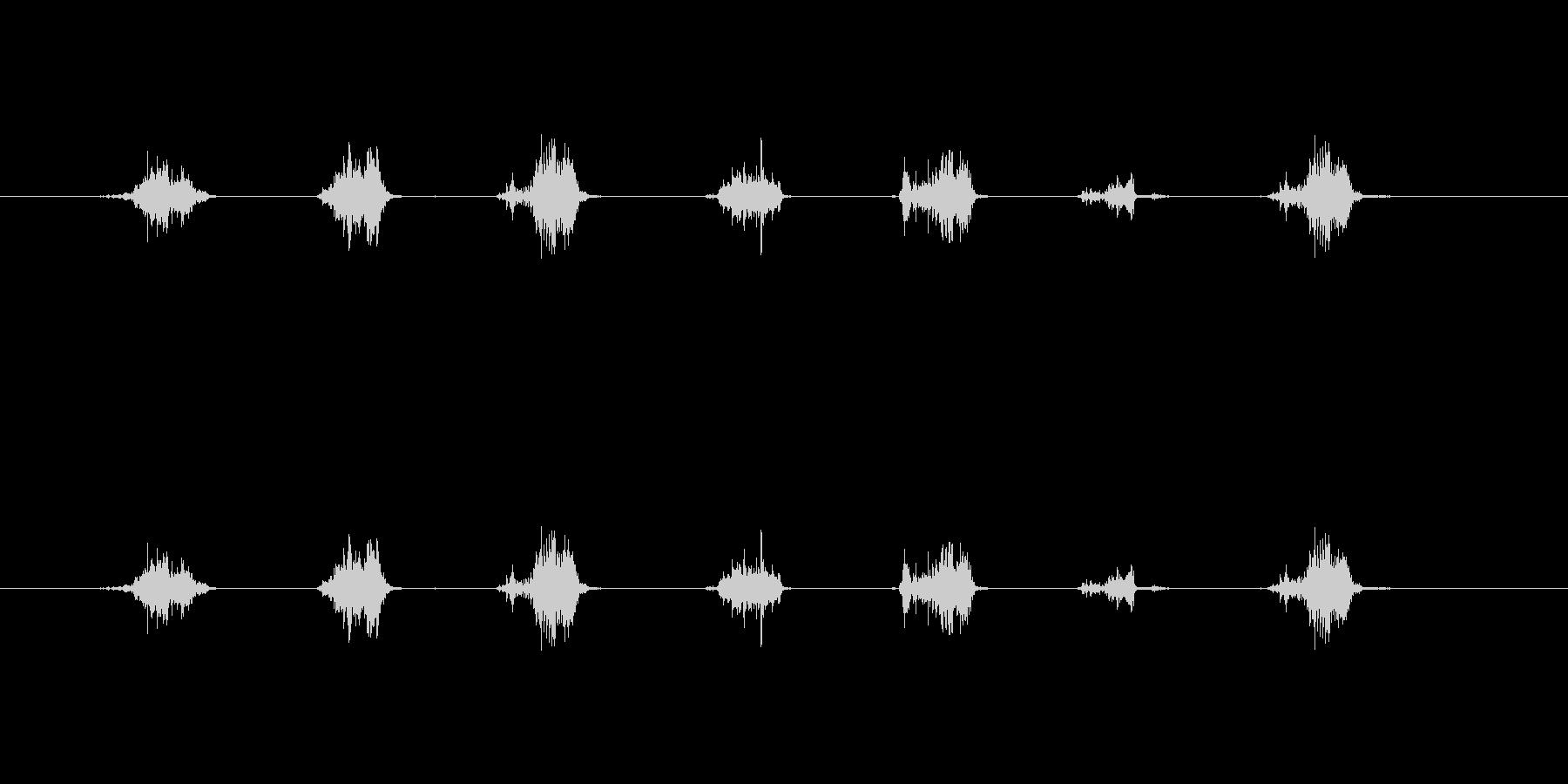 【鉛筆削り01-2(削る)】の未再生の波形