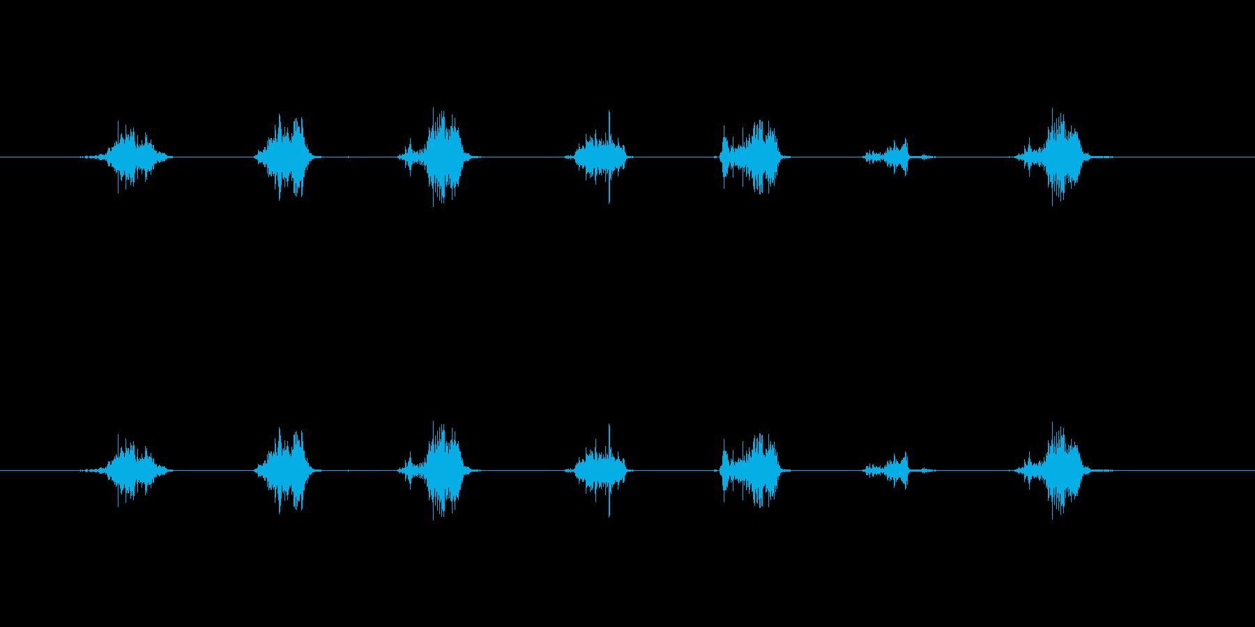 【鉛筆削り01-2(削る)】の再生済みの波形