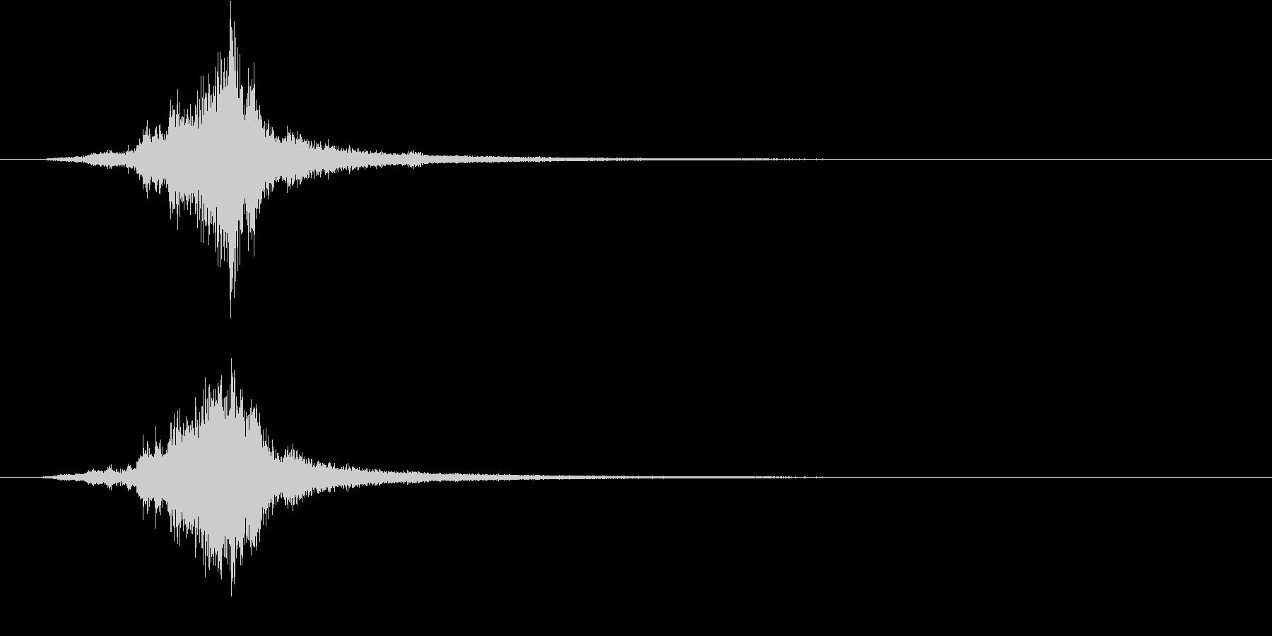 気配/ホラー系/剣を抜くの未再生の波形