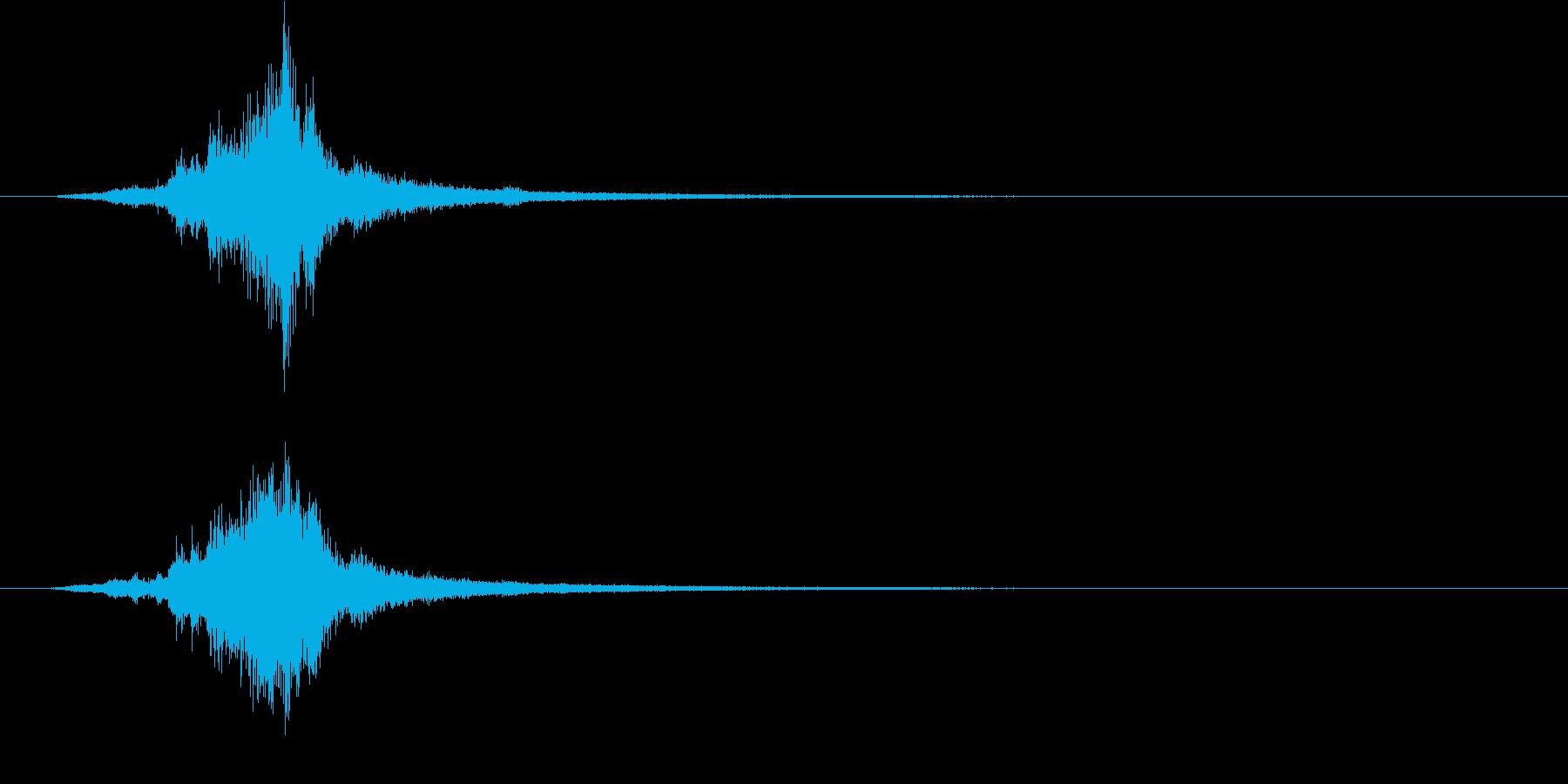 気配/ホラー系/剣を抜くの再生済みの波形
