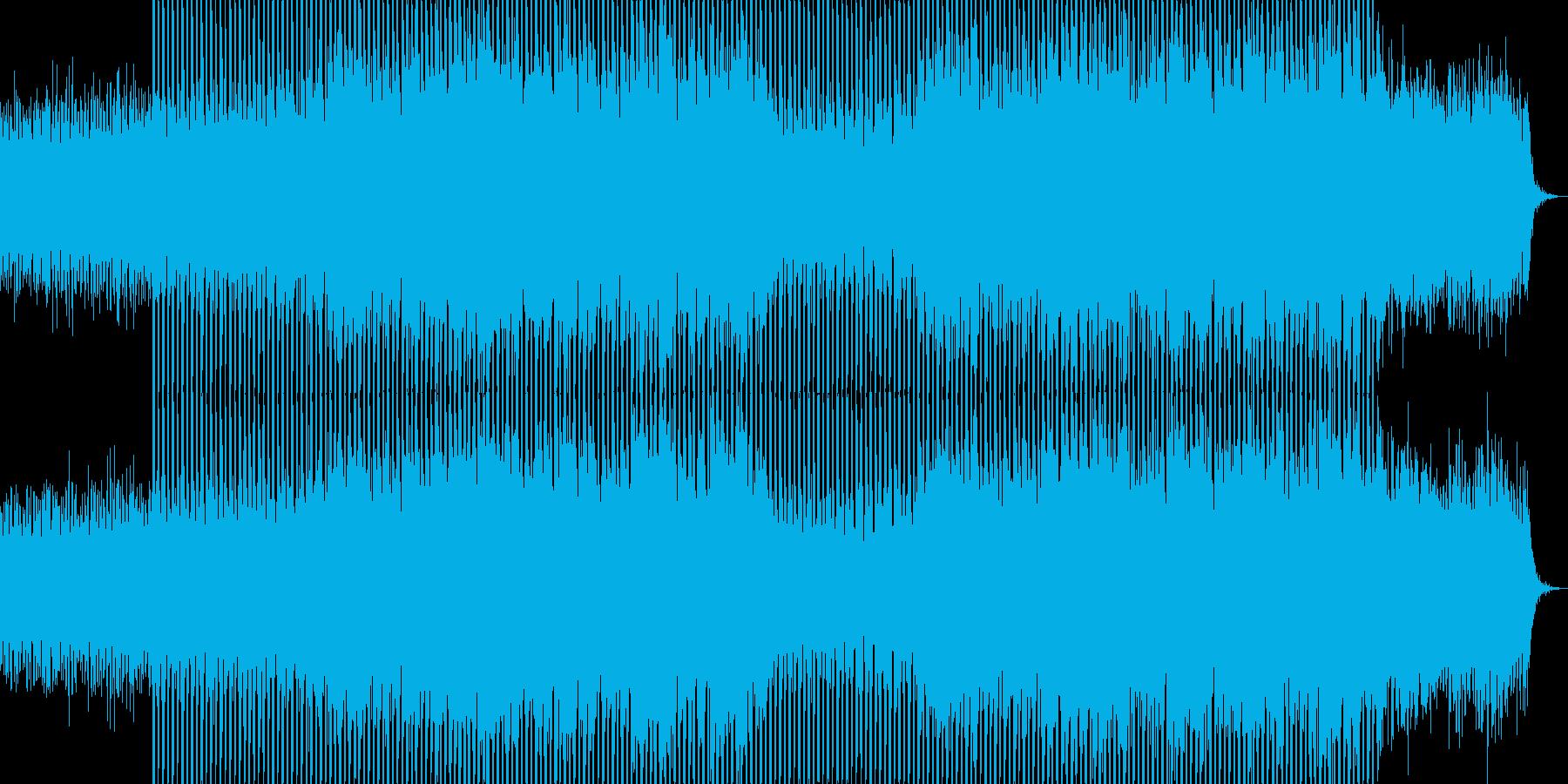 EDMクラブ系ダンスミュージック-43の再生済みの波形