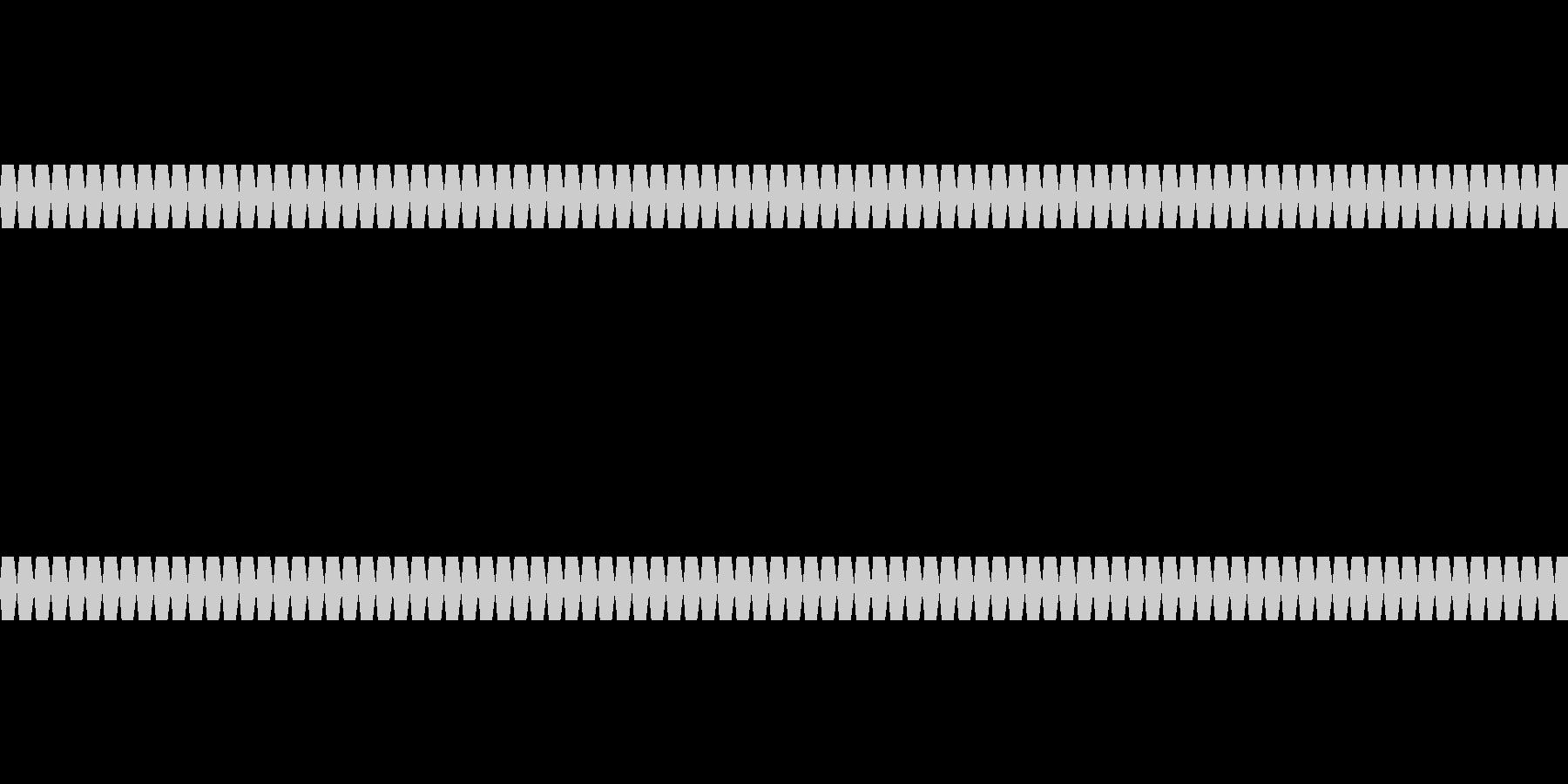 トゥルル(数字カウント音)ループの未再生の波形