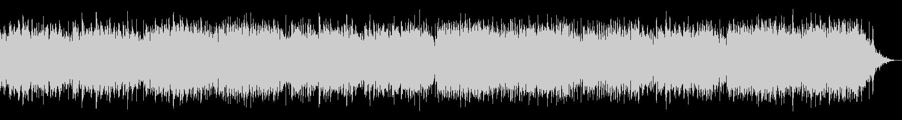 メルヘン的な淡いシンセサイザーBGMの未再生の波形