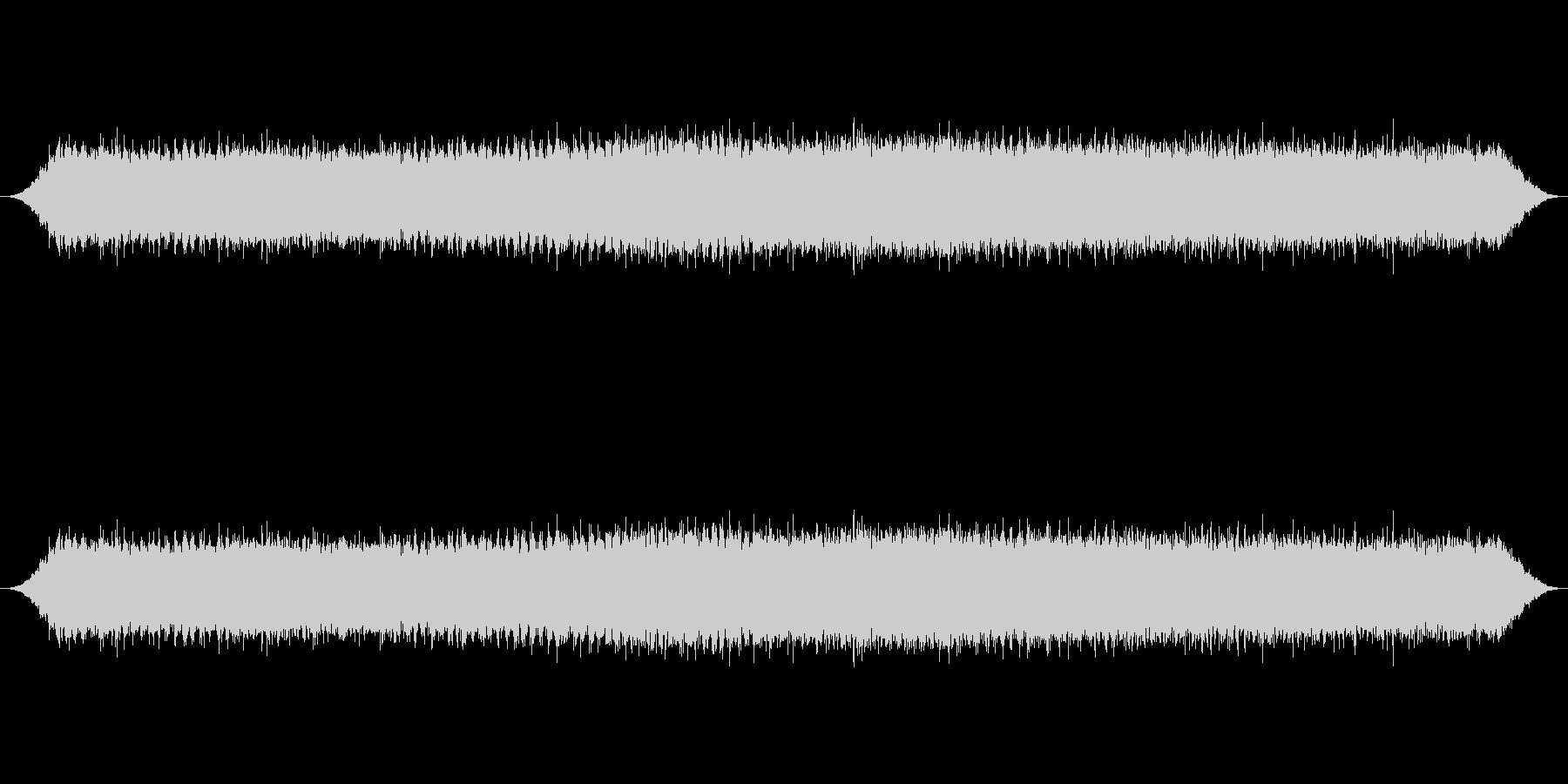 クマゼミの鳴き声_2の未再生の波形