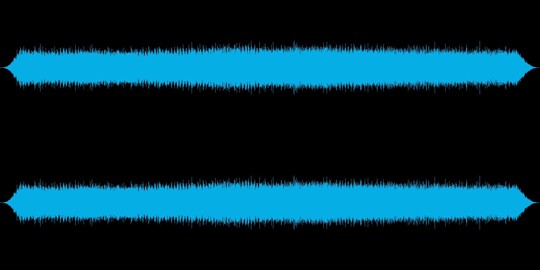 クマゼミの鳴き声_2の再生済みの波形