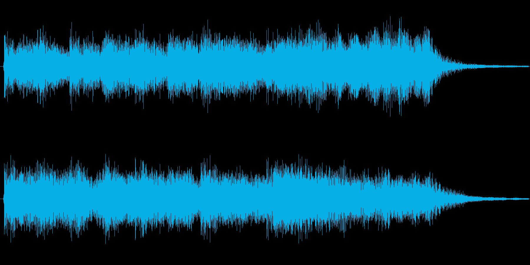 琴、シンセなどを使った、明るく楽しい中…の再生済みの波形