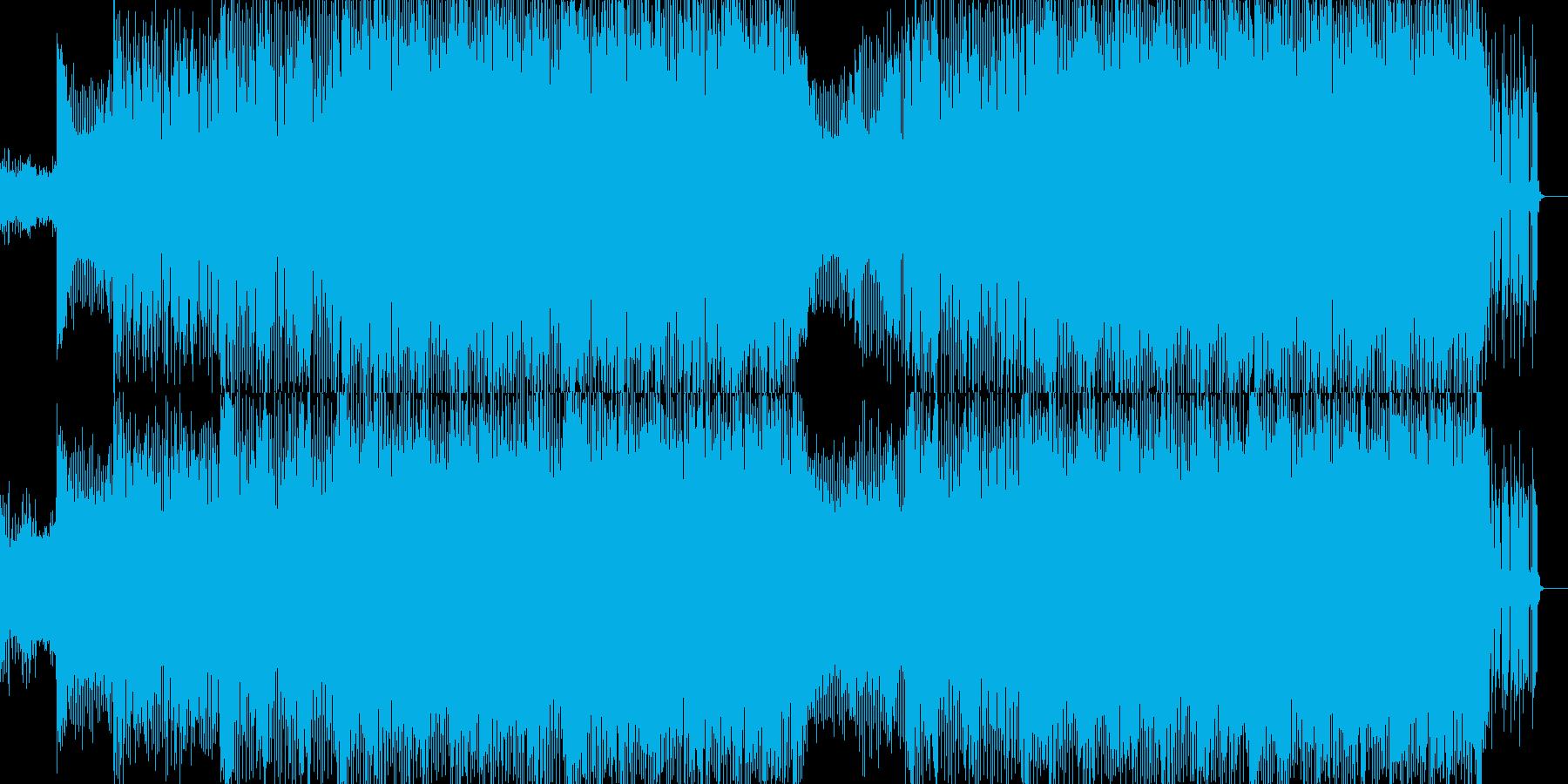 明るくポップな企業イベントVP-32の再生済みの波形