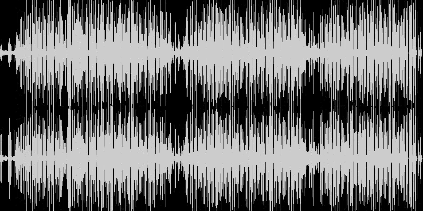 breakbeatsの未再生の波形