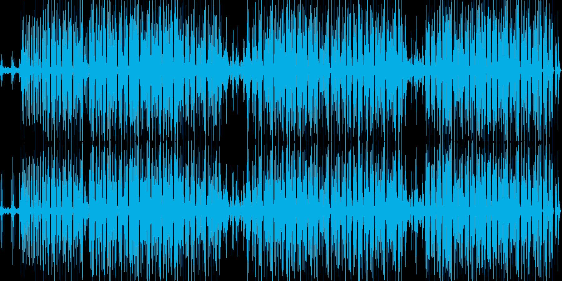 breakbeatsの再生済みの波形