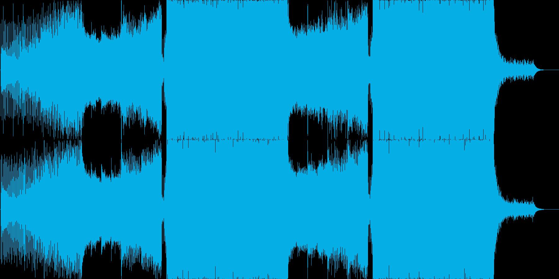透明感のある和風プログレッシブハウスの再生済みの波形