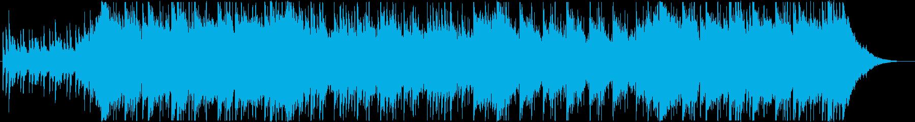 日本らしい切なく壮大な和風BGMの再生済みの波形