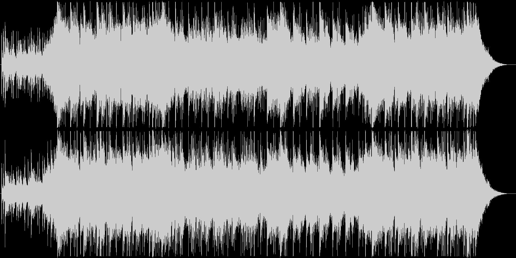 琴、尺八、三味線、切なく壮大な和風BGMの未再生の波形