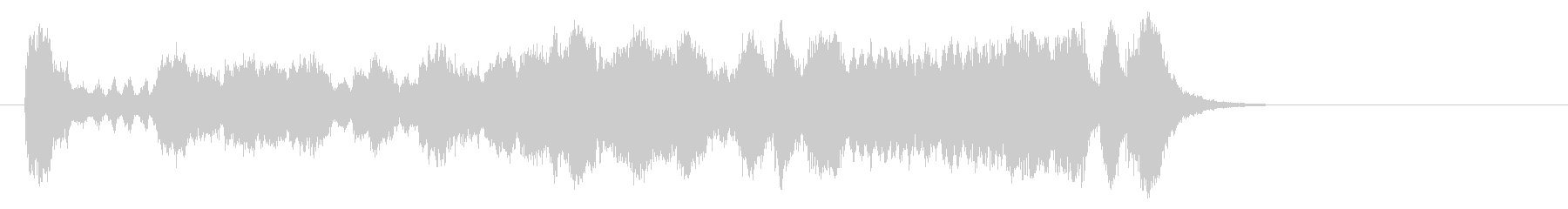 気品高いオーケストラ楽曲(イントロ)の未再生の波形