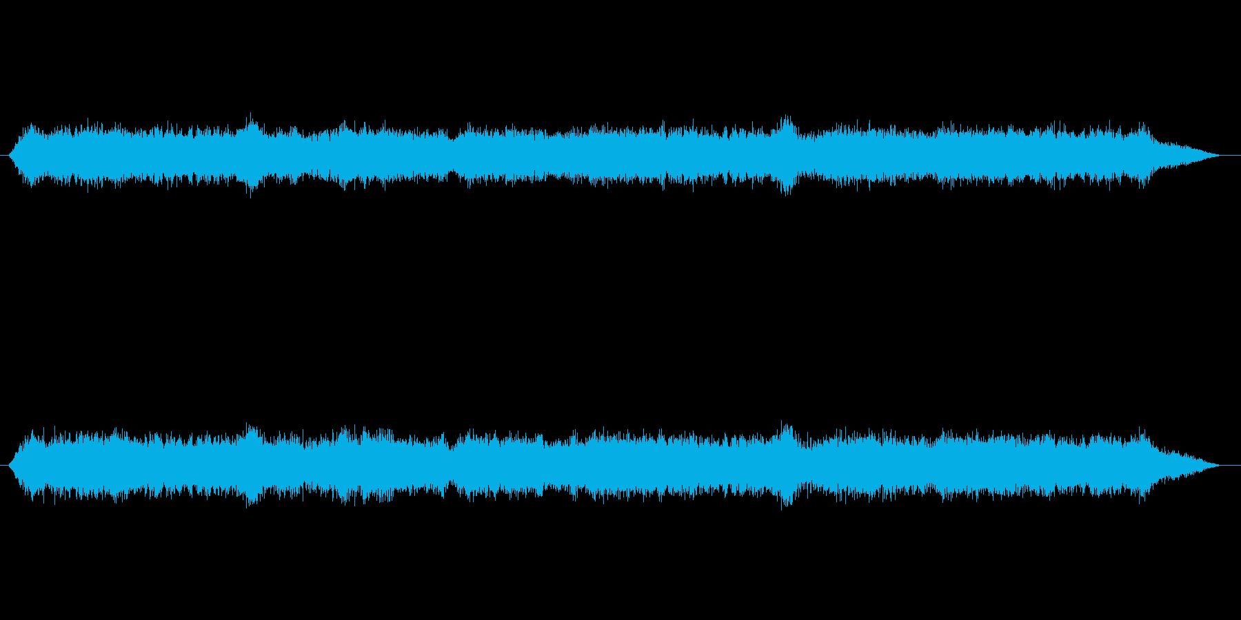 【雑踏 街頭01-2】の再生済みの波形