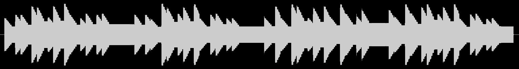 横断歩道 誘導音02-2の未再生の波形